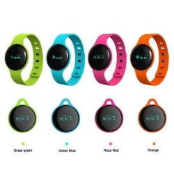 H18 Sport Bluetooth Smart Bracelet Watch Sync Call SMS Anti-lost Health