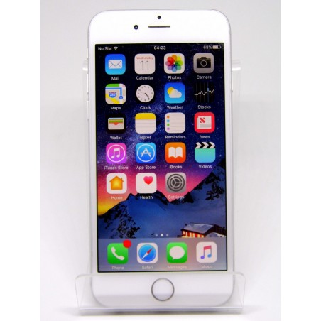 Apple iPhone 6 Silver 64GB (EE, Virgin, T-Mobile) Excellent Condition Extras