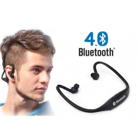 Sports Hook Over Ear Earphone Stereo Wireless Bluetooth 4.0 Headset Headphone
