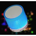 Portable LED A9 Mini Bluetooth Wireless USB Player Speaker TF USB FM