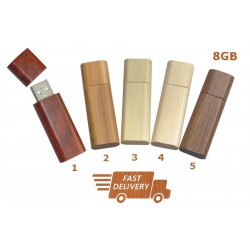 High Quality Wooden USB 2.0 Flash Memory Stick Pen Storage Drive 8GB
