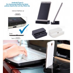 Desktop Charging Charger Dock Stand Station For Samsung Galaxy S3 S4 S5 S6 HTC