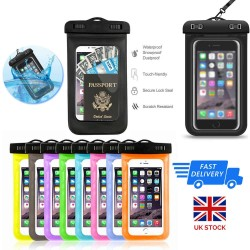 Underwater Waterproof Case Dry Bags Pouch For Mobile Phones iPhone Samsung
