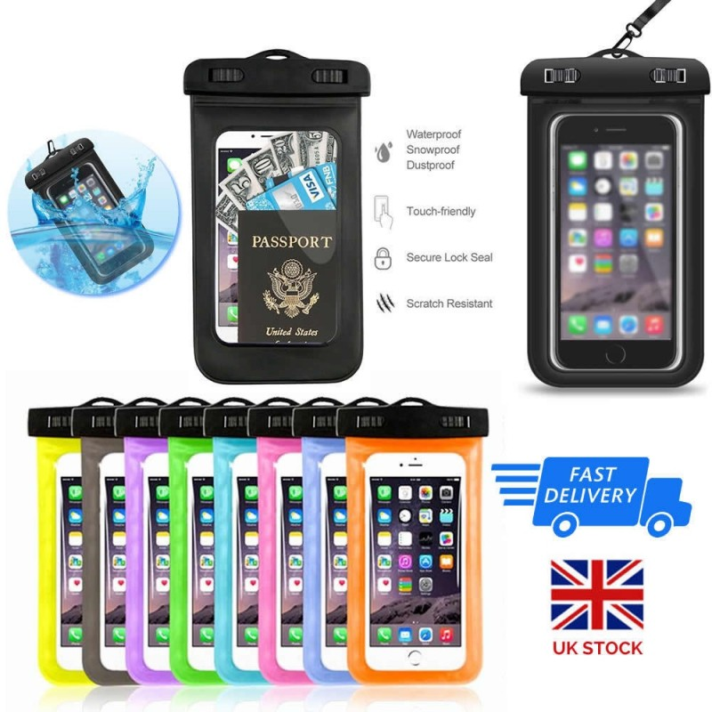 509f43a41f0 Underwater Waterproof Case Dry Bags Pouch For Mobile Phones iPhone Samsung