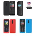 Original NOKIA 105 Dual SIM Unlocked Mobile Phone FM radio Speaking Clock