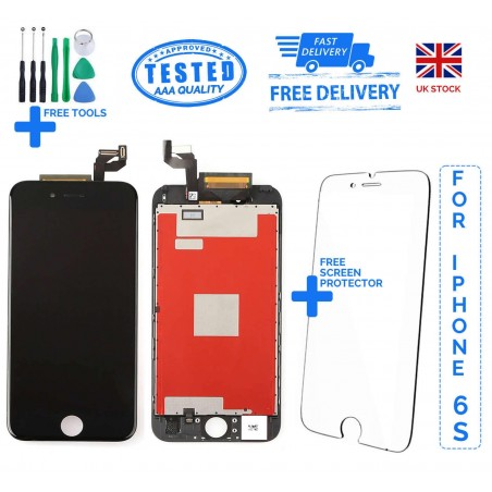 For iPhone 6S Replacement Full LCD Touch Screen Full Display Digitizer White Black