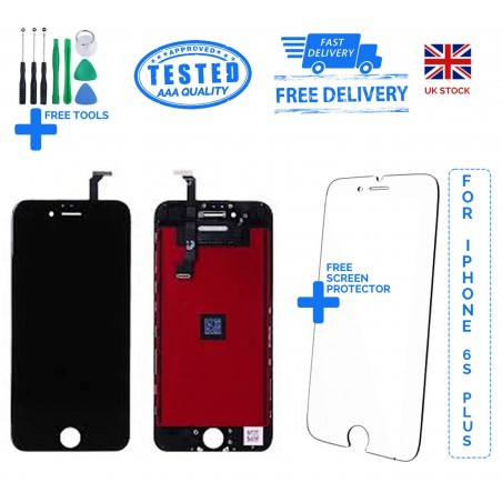 For iPhone 6S Plus Replacement Full LCD Touch Screen Full Display Digitizer Black White
