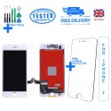 For iPhone 7 Replacement Full LCD Touch Screen Full Display Digitizer White Black