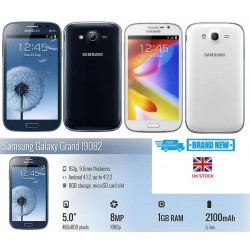 NEW Unlocked SAMSUNG Galaxy Grand I9082 Memory 8GB 8MP Camera RAM 1GB Warranty