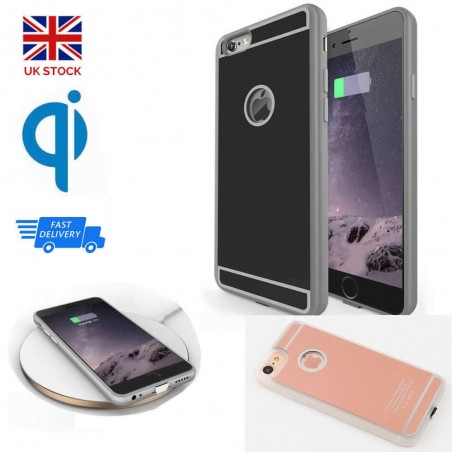 2019 QI Wireless Charger Receiver Case For iPhone 6,7, 6Plus, 7Plus