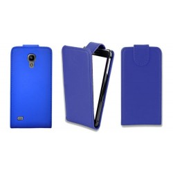 Leather Flip Case Cover & Screen Protector for Samsung Galaxy S4 MINI i9190