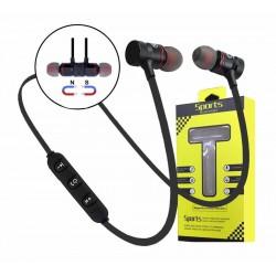 New Magnetic Wireless Bluetooth 4.1 Sweatproof Earphones Headphones With Mic Sport Gym