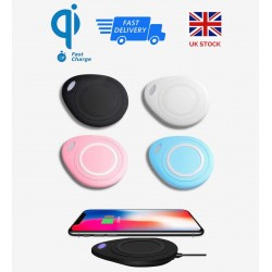 NED Quality Qi Wireless Mobile Phone Fast Charger Charging Stand Dock Pad Holder