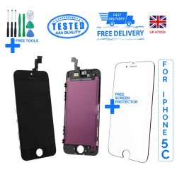 For iPhone 5C Replacement Full LCD Touch Screen Full Display Digitizer AAA